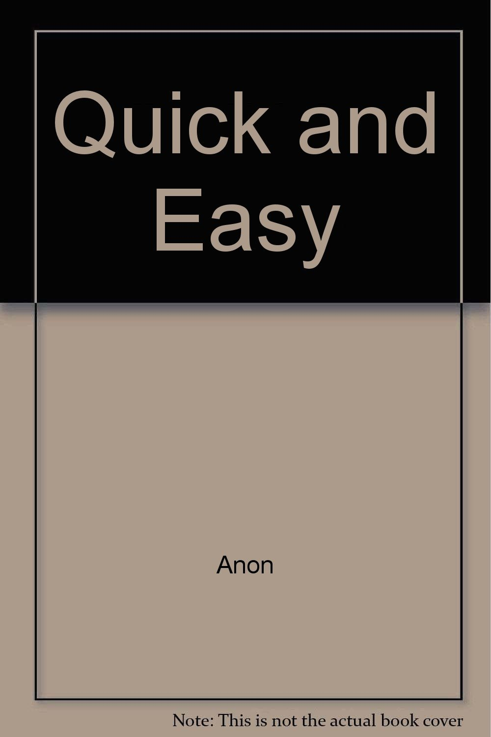 Read Online Quick and Easy ebook