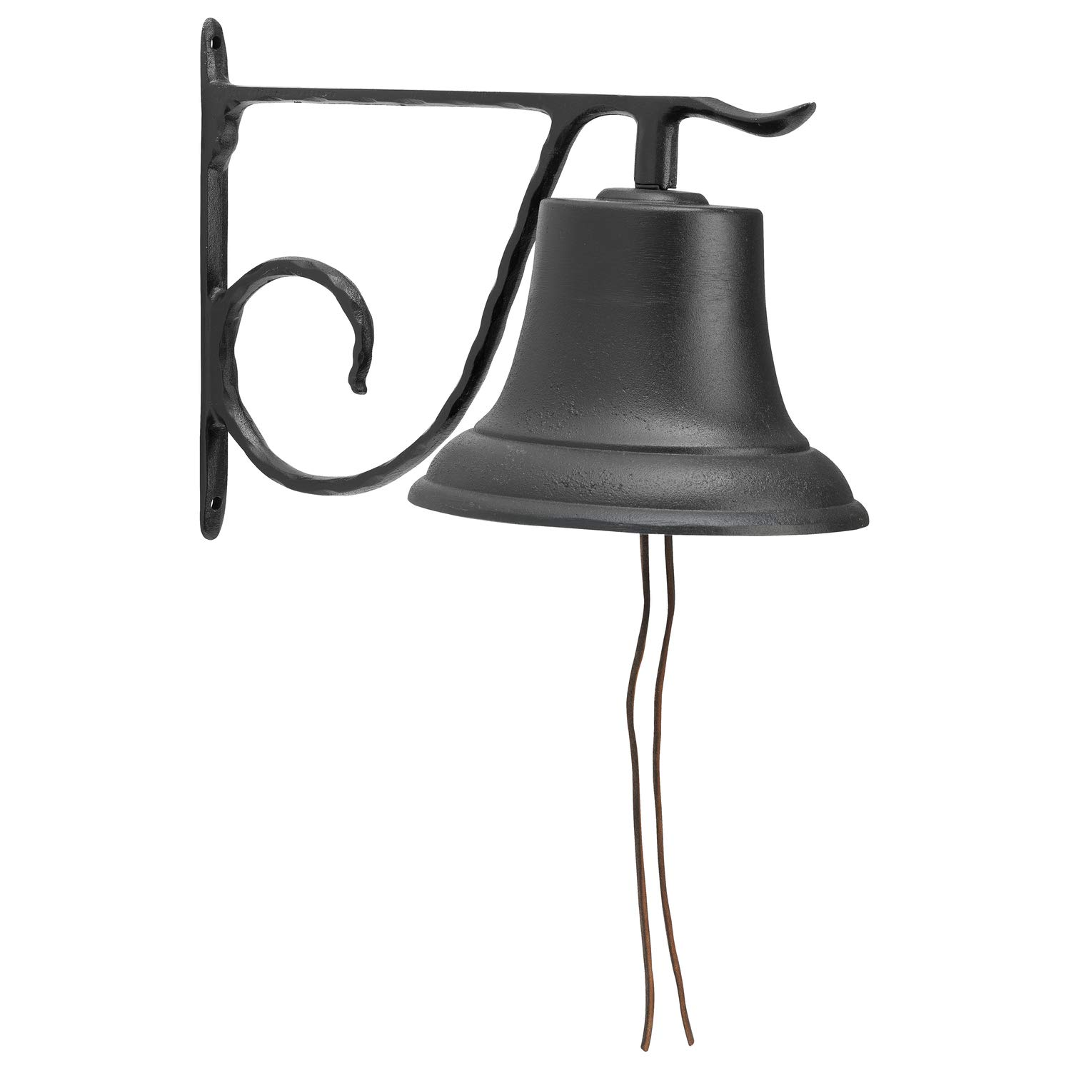 Whitehall Products Decorative Country Bell, Large, Black by Whitehall