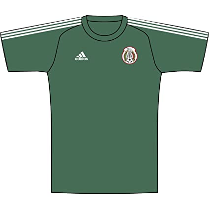 4135c2547 Amazon.com : adidas Youth Mexico 2018 Home Replica Jersey : Sports ...