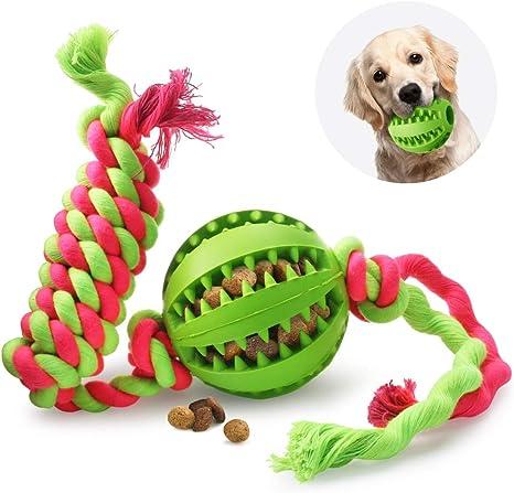 Idepet - Pelota de juguete para perro, cuerda de algodón, no ...