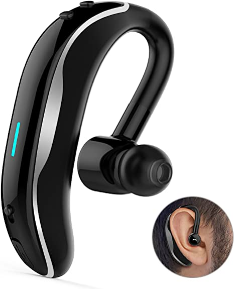 V4.1 Senza Fili Auricolari Bluetooth Cuffie Con Microfono 10 Ore Talk Auricolare Wireless Headset da Studio Mono Cuffie per Auto Adatto per iPhone Auricolare Bluetooth Huawei Android Sumsung