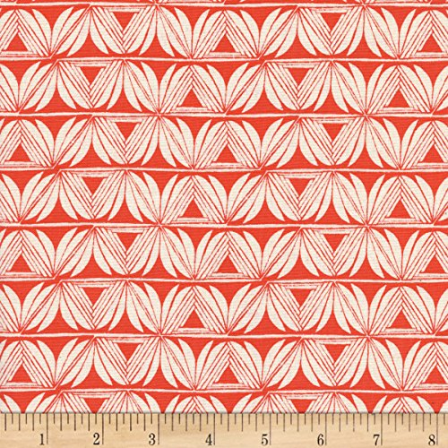 Santa Fe Quilting - Cotton + Steel Santa Fe Pottery Red Fabric by The Yard