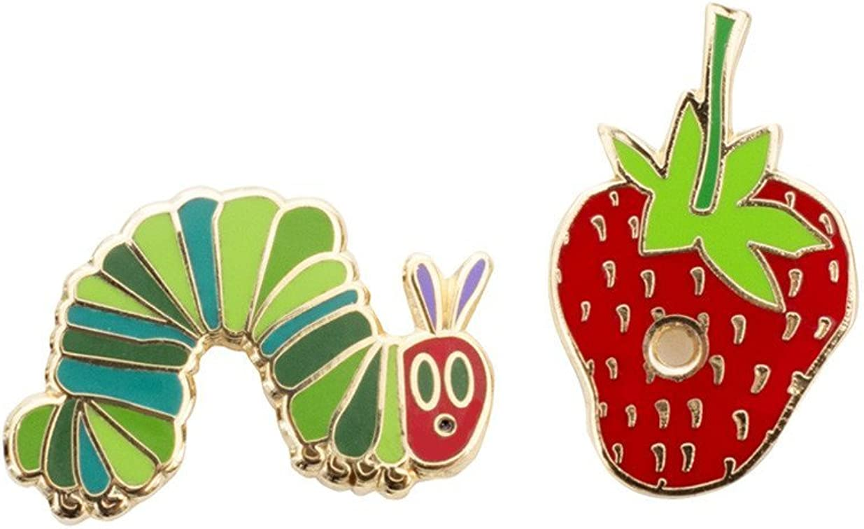 Out of Print World of Eric Carle, The Very Hungry Caterpillar Enamel Pin Set