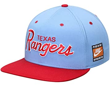 Nike Texas Rangers colección Cooperstown SSC Throwback Ajustable ...