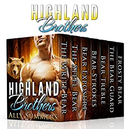 The Highland Brothers: BBW Shifter Romance by [Summers, Ally]