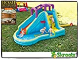 Inflatable Bounce House Jump Splash Adventure Water Slide Bouncer Pool Waterslide New Kids Home Banzai Outdoor Slip Fun Backyard Park Commercial Toys Pools Guarantee - It Comes Only Along with Our Company's Ebook