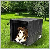 "Sofantex Heavy Duty Crate Cover Waterproof 3 Year Warranty, 48"" L x 30"" W x 33"" H, Black"
