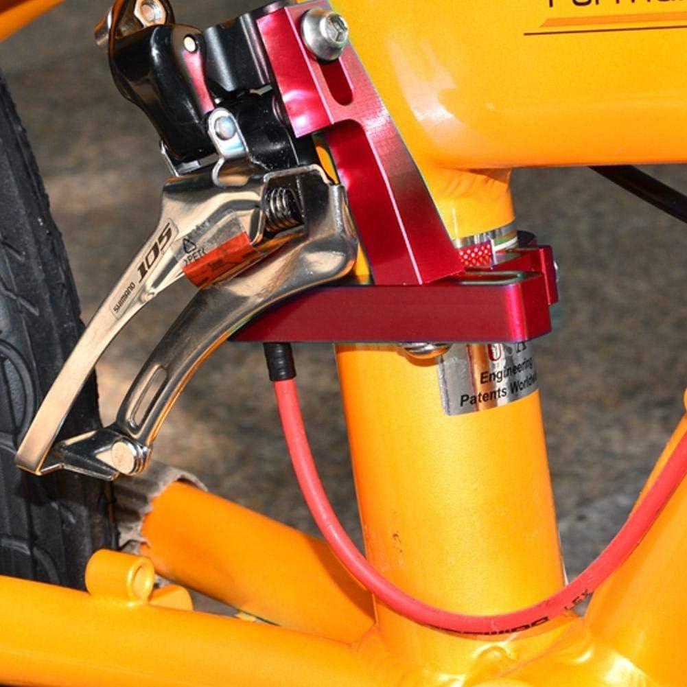 Desviador Delantero Cambiador de Velocidad para Accesorios de Bicicleta con dise/ño de Placa Antideslizante Piezas de Repuesto para Bicicletas//Cruceros//Ciclo de monta/ña el/éctrico//h/íbrido