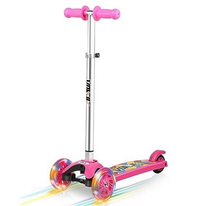 Amazon.com: VOKUL patinete para niños, 3 ruedas de ...