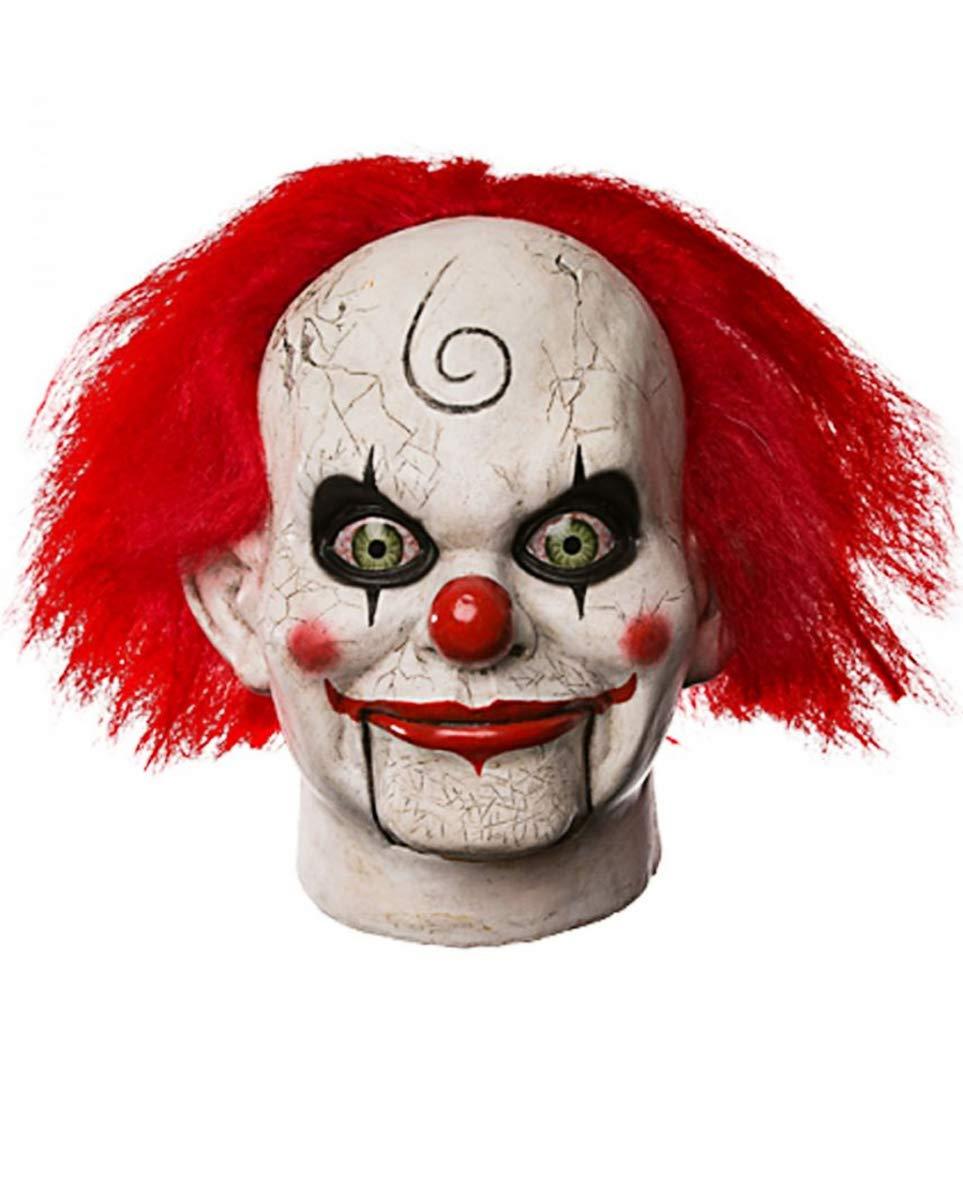 Horror-Shop Morto Silenzio Maria Shaw Clown Maschera Morte Silenzio Mary Shaw Clown