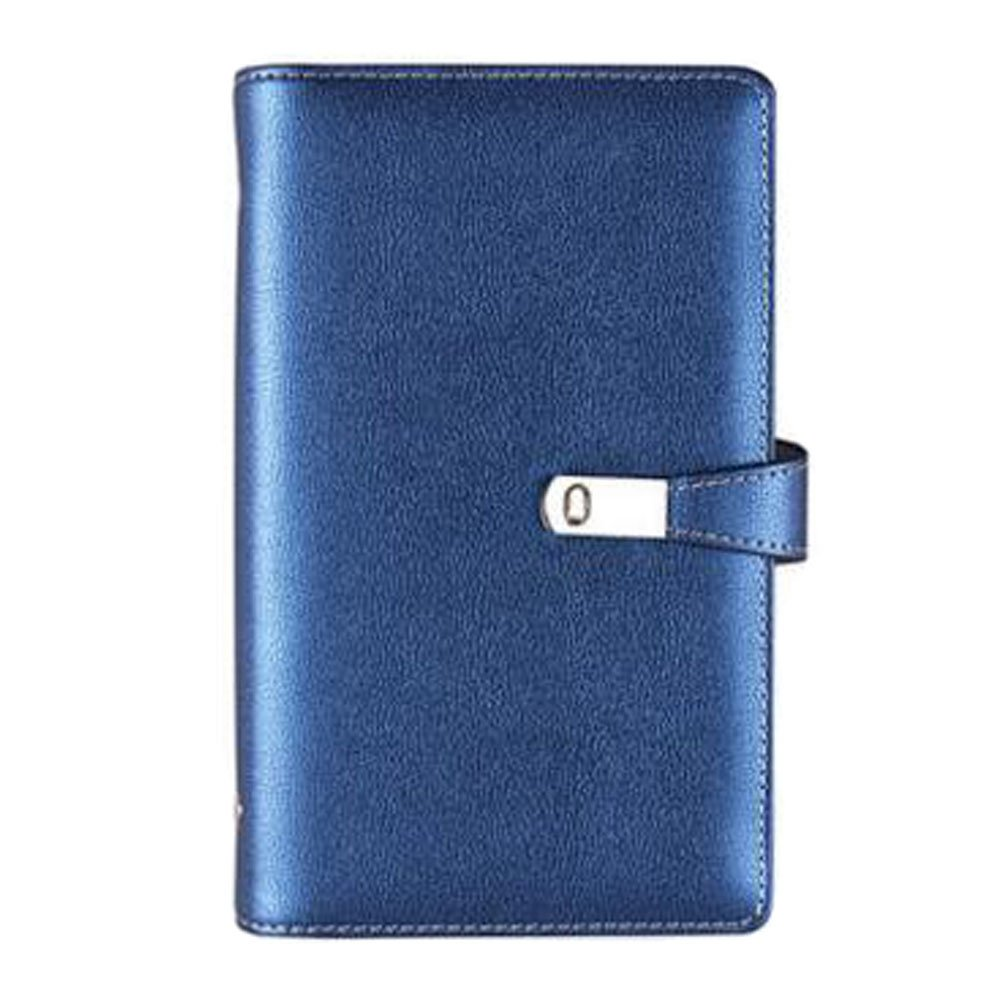 Blue Practical ID Card Holder Credit Card Case with 120 Card Slots