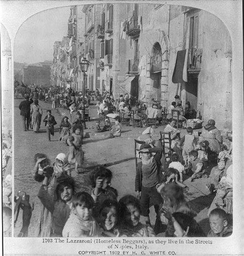 photo-the-lazzaronihomeless-beggarsas-they-live-in-streetsnaplesitalyc1902
