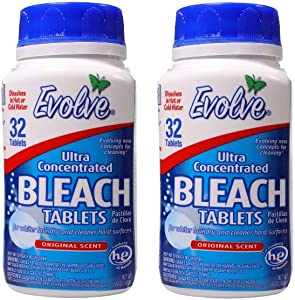 Evolve Bleach Tablets, (2, Original)