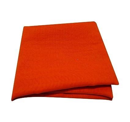 PEEGLI Sari De La Moda De Las Mujeres Vestido Pareo Mezcla Georgette De Envoltura De Naranja