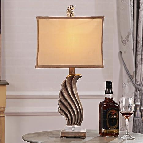 lámpara de mesa de cristal clásico/Lámparas personalizadas ...