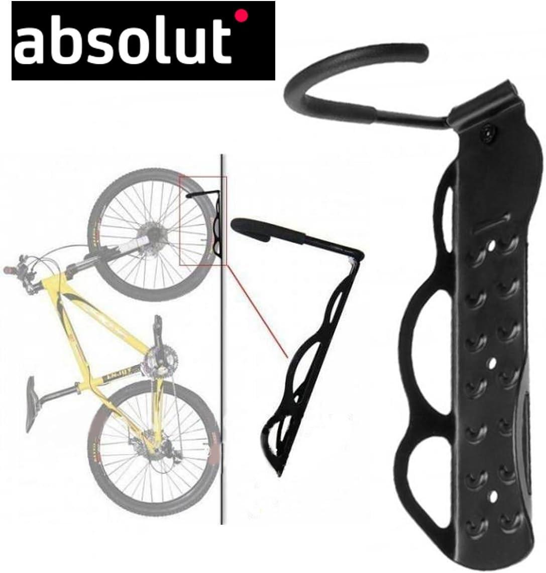stand soporte pared colgador bici bicicleta Absolut acero + ...