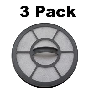 Filter for Eureka EF-7 Airspeed One Vacuum 68657 3 Pack