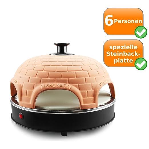 Pizza Bandeja de horno con piedra, para 6 Los Restos Mini de ...