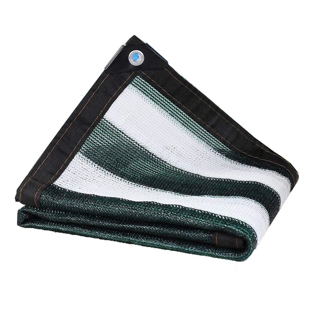 XUERUI シェルター シェードネット UV耐性 ガゼボオーニンググロメット ポリエチレン シェーディング率90% 温室 納屋の犬小屋 庭の花植物 スポーツ アウトドア (Color : 緑, Size : 6X6M) 緑 6X6M