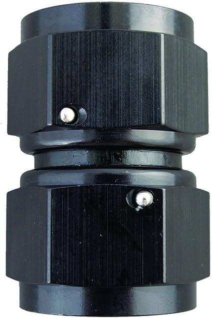 x Female Swivel Connector Fragola 496107-BL Black Size -8 -6