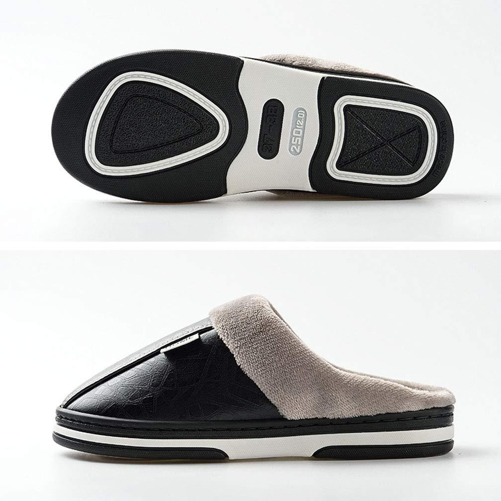 Hishoes Donna Inverno Calde Pantofole Comode Peluche Cotone Pantofole Uomo Invernali Antiscivolo Interni All'aperto Scarpe Taglia 35 50 EU