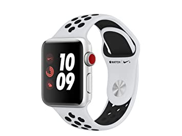 Apple Watch Nike+ OLED GPS (satélite) Display Diagonal Plata Reloj Inteligente: Amazon.es: Electrónica