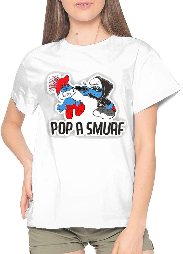 Patricia M Rivas Woman The Smurfs Call Me Big Papa T Shirts Black Shir