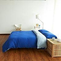 Cotton Pure™ Klein Blue Jersey Cotton Quilt Cover [Queen]