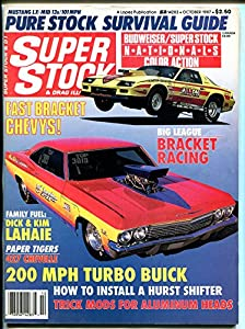 Super Stock & Drag Illustrated 10/1987-Impala SS, Corvair-NHRA-AHRA-VG
