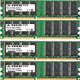2GB KIT (4 x 512MB) For HP-Compaq Media Center M Series m1050y m1070n m1072n m1075 m1075.uk m1080 m1080.fr m1080.uk m1080n m1082n m1090 m1090.uk m1090n m1095c m1095c-b m1150 m1150.fr m1150.uk m1170 m1170.fr m1170.nl m1170.uk m1170n m1171n m1180 m1180.fr m1180.uk m1180n m1188a m1190 m1190.it m1190.uk m1190n m1195c m1197c m1199a m1250.fr m1250.uk m1260.uk m1260e m1261.uk m1270.fr m1270kr. DIMM DDR NON-ECC PC3200 400MHz RAM Memory. Genuine A-Tech Brand.