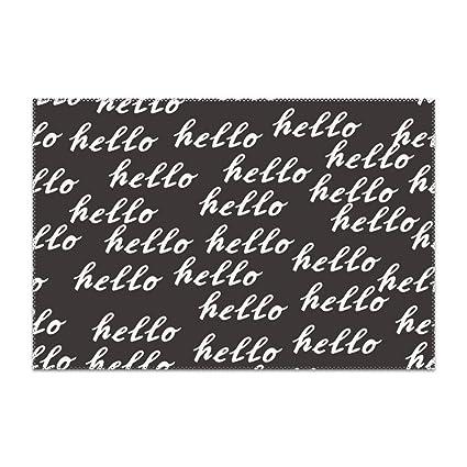 yyoungsell Letra Alfabeto manteles Individuales Mesa de ...