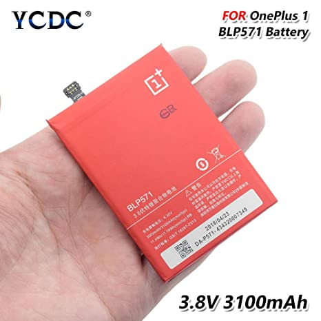 Amazon com: Replacement BLP 571 BLP571 Battery for OnePlus 1