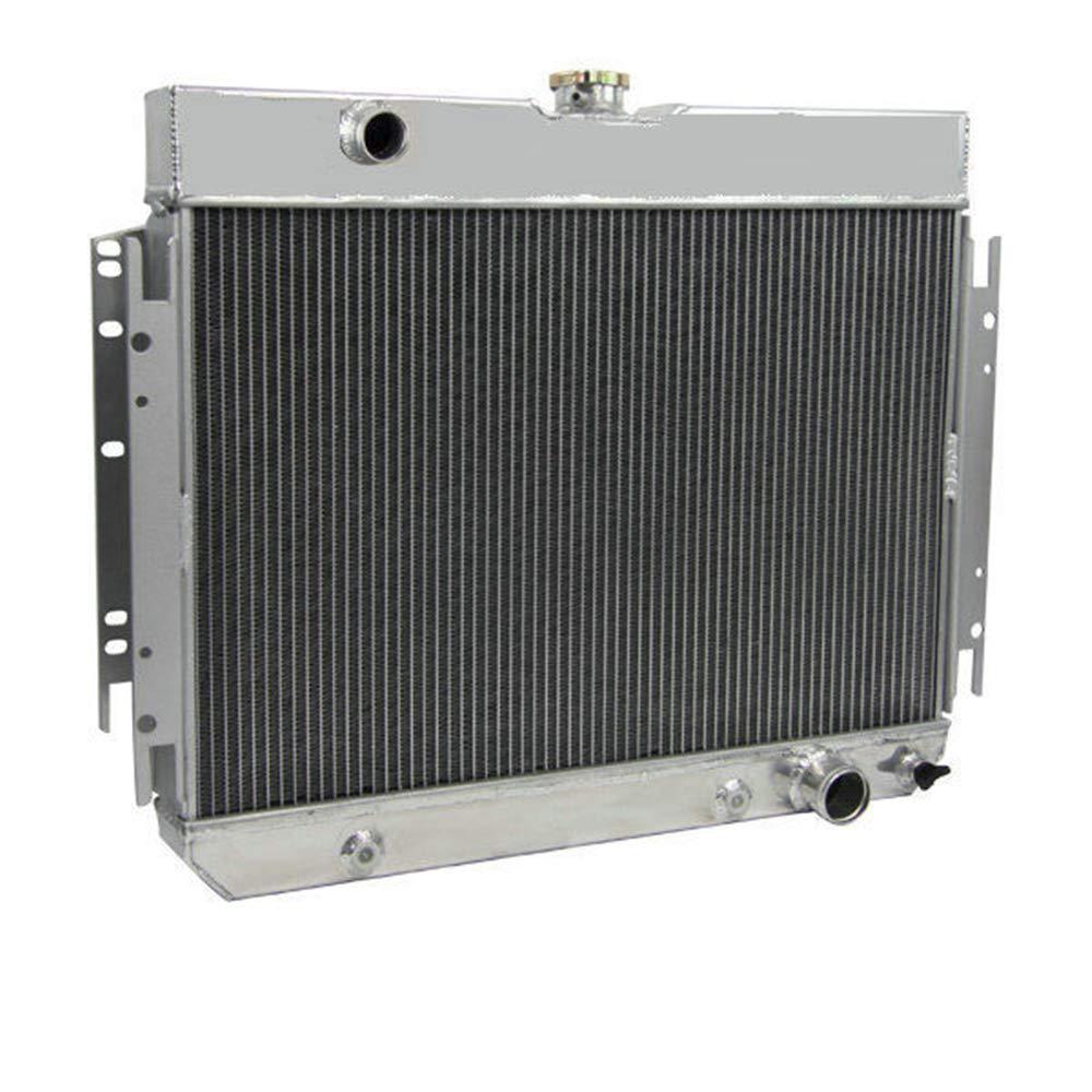 2Row Aluminium Radiator For 63-68 Chevrolet Bel Air//Impala//Biscayne All Engines