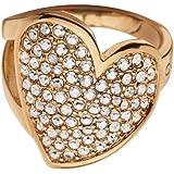 Guess Damen-Ring Vergoldet Zirkonia weiß UBR114