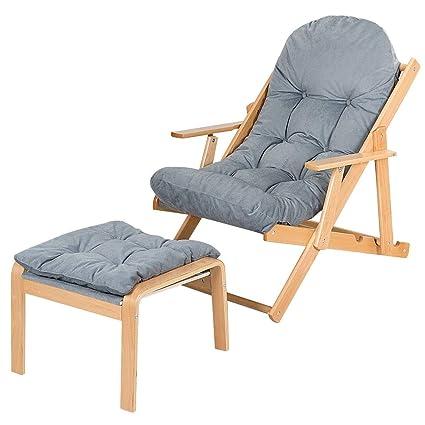 Amazon.com: NanaPluz - Silla reclinable plegable ajustable ...