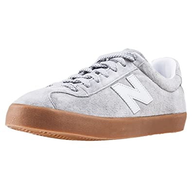 New Balance Ml22 Classic Court Soccer Perf Mens Trainers Grey Gum - 7 UK