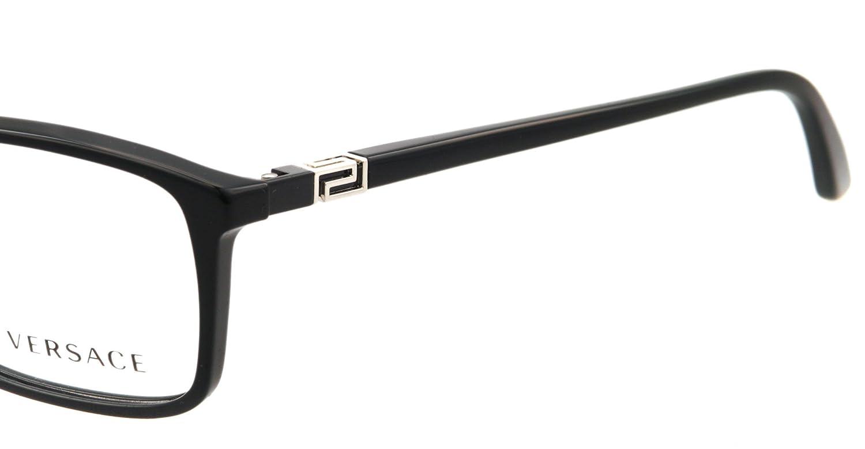 05416fa4e2 Versace Eyeglasses Ve 3163 Gb1 Shiny Black 54Mm  Amazon.co.uk  Clothing