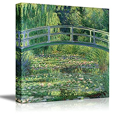 The Water Lily Pond by Claude Monet 16