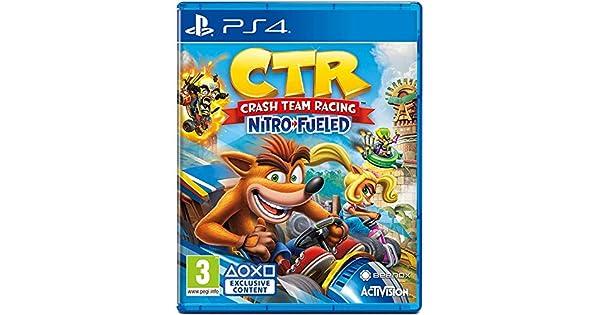 Activision Blizzard PS4 Crash Team Racing Nitro-Fueled EU: Amazon ...