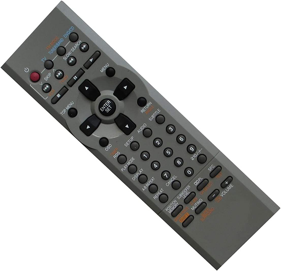 Remote Control for Panasonic DVD-S25S DVD-S25U DVD-S25UP DVD-S53 DVD-S533 DVD-S53K DVD-S53S N2QAJB000092 DVD-F84 F84S F86 DVD Player