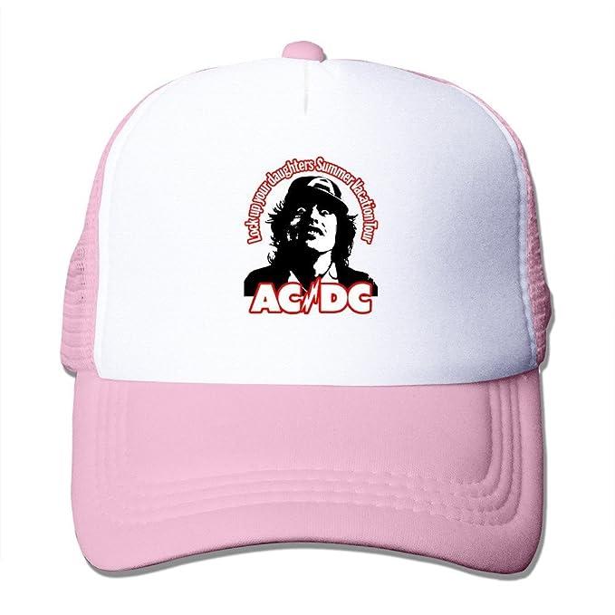 QAWS Negro AC DC Rock Or Busto Rock Or Busto Malcolm Gorras de ...