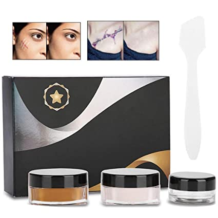 Amazon.com: MOGOI Tattoo Cover Up Makeup Waterproof Tattoo Concealer ...