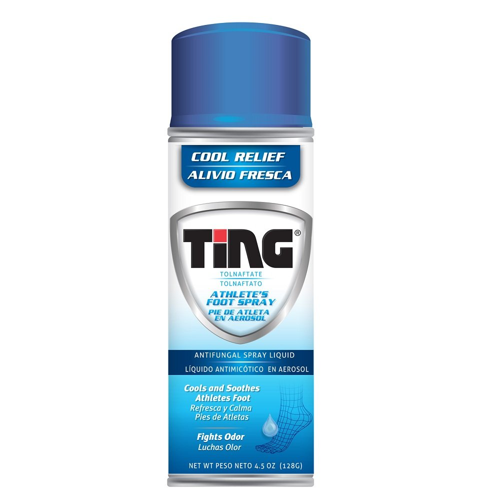 Ting Athlete's Foot Spray | Antifungal Spray Liquid | 4.5 oz | Pack of 12 by Ting Ting
