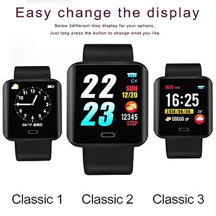 Four Bluetooth Smartwatch, Relojes Inteligentes Desbloqueado Reloj Teléfono Puede Llamar Y Texto con La Cámara