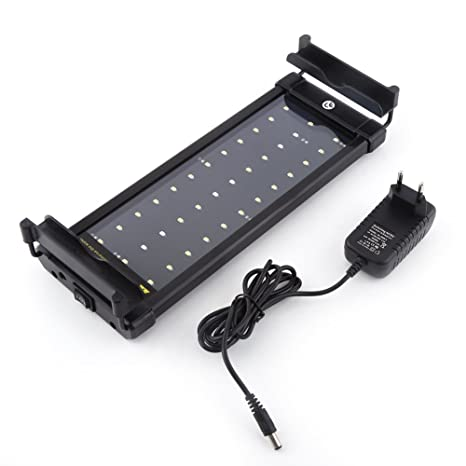 LED Acuario Pecera Submarino lampara pecera sumergible 36 LED 6 W luz apropiado para 11.8in