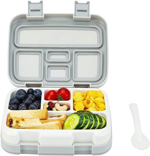 Merysen 800 ml Caja de Almuerzo de Plástico para Niños, Caja de ...