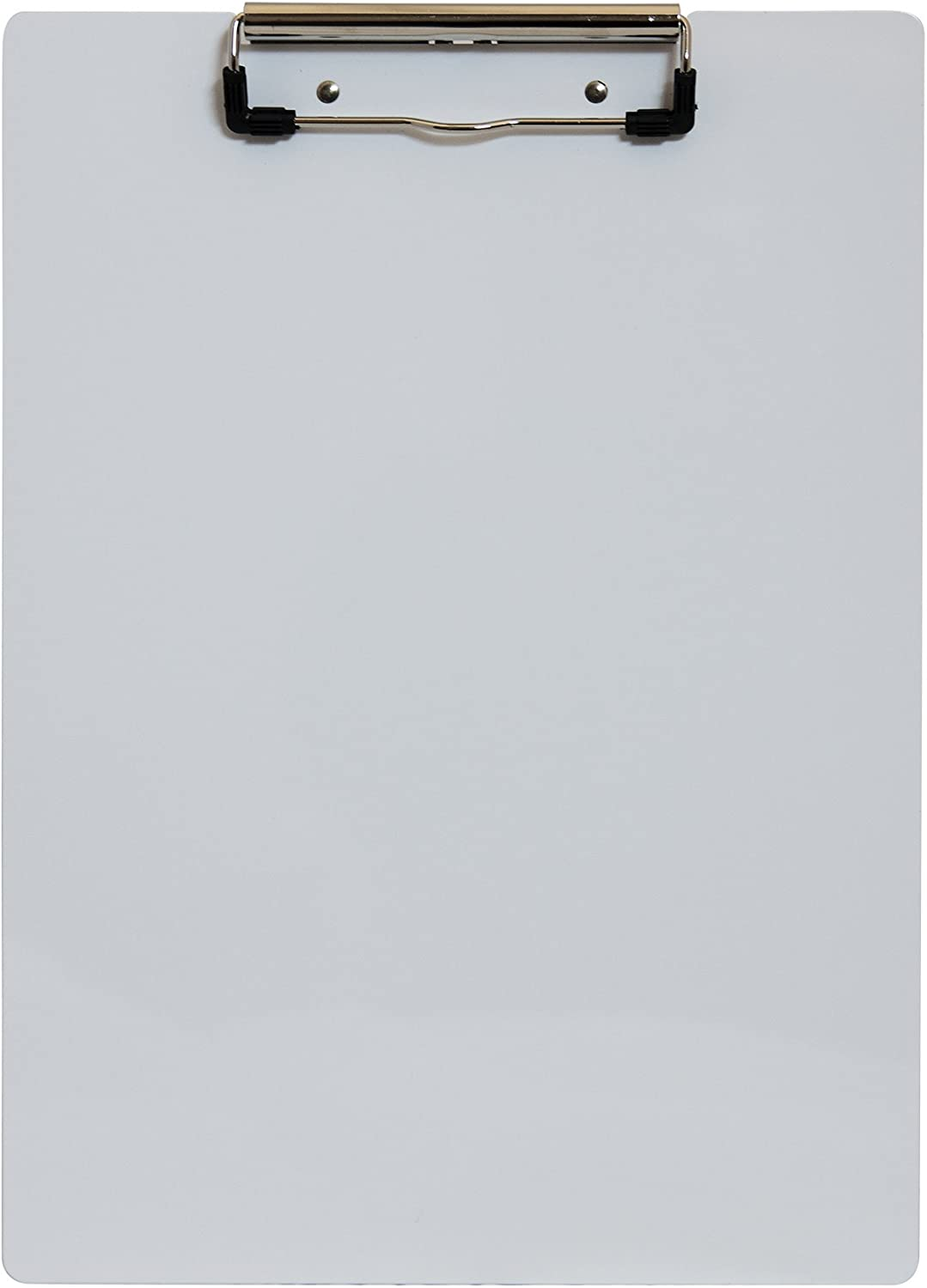 Saunders 21526 Recycled Aluminum Clipboard - White, Letter Size, 8.5 in. x 12 in. Document Holder with Low Profile Clip
