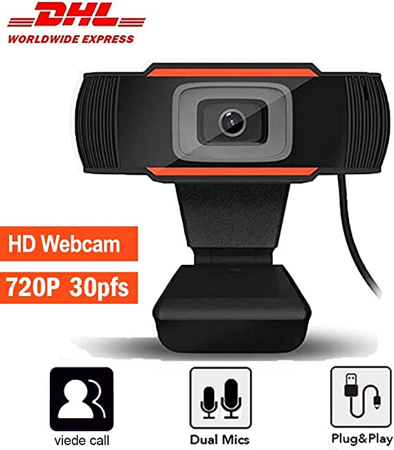 720P Webcam HD PC Desktop Camera with Absorption