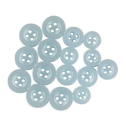 a4a4575d150c ButtonMode Standard Shirt Buttons 16pc Set includes 8 Shirt Front Buttons x  12mm (14