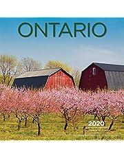 Ontario 2020 Square Bilingual English French Wall Calendar
